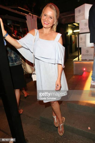 MUNICH GERMANY JUNE 26 Nova Meierhenrich during the Movie meets Media Party during the Munich Film Festival on June 26 2017 in Munich Germany