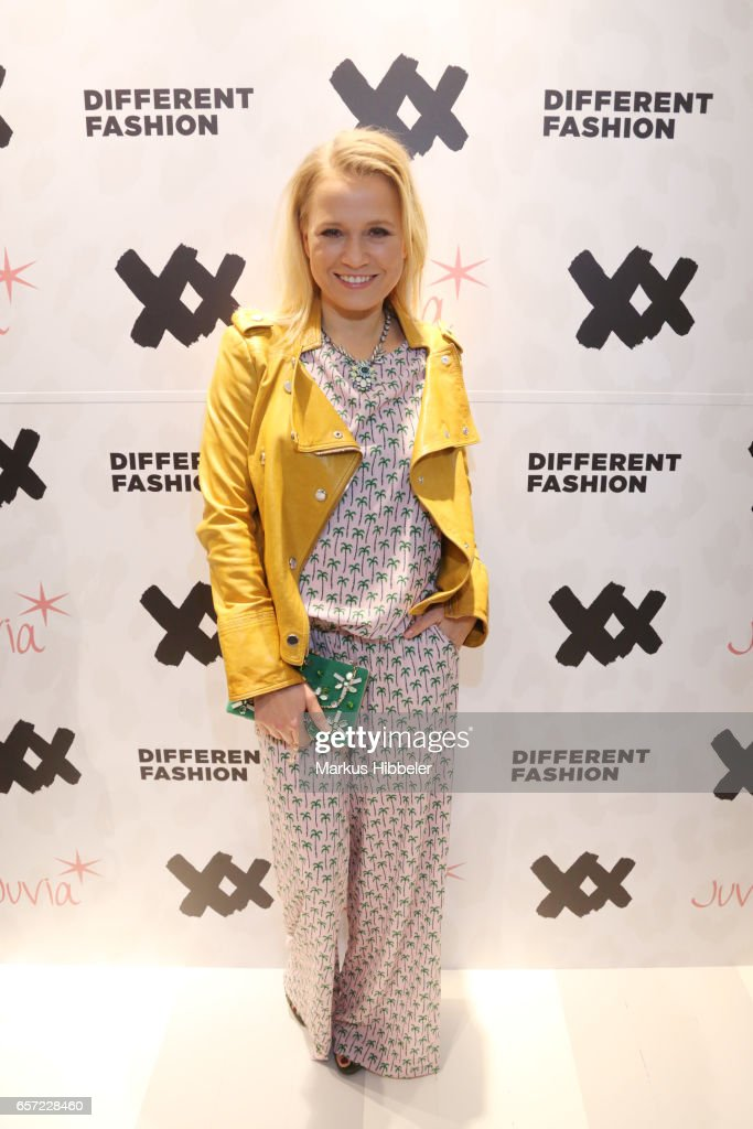 Nova Meierhenrich poses during the Different Fashion store opening on March 23, 2017 in Hamburg, Germany.