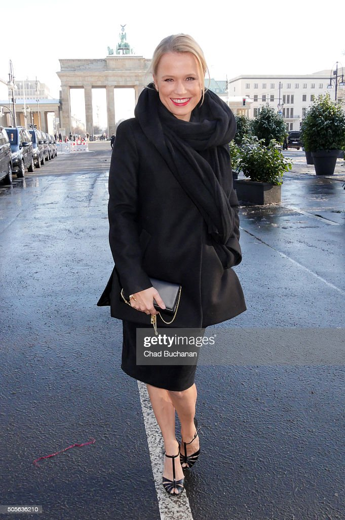 celebrity sightings in berlin january 19 2016 getty images. Black Bedroom Furniture Sets. Home Design Ideas