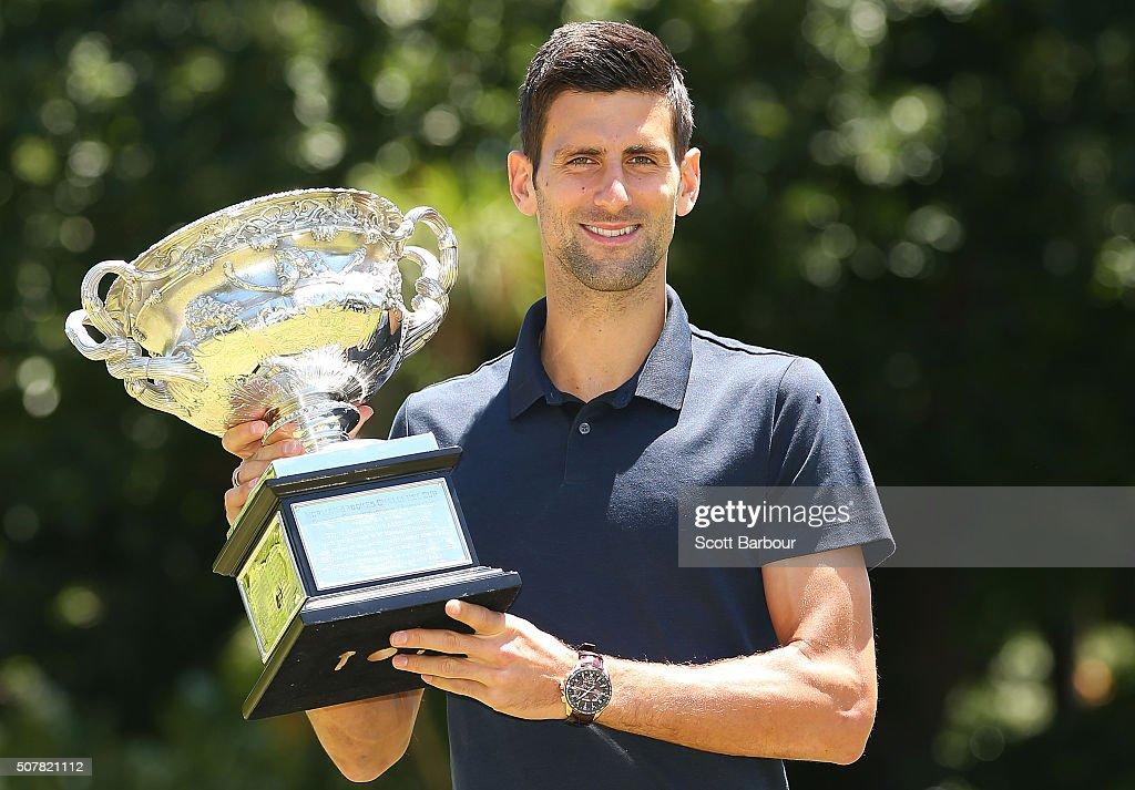 Australian Open 2016 - Men's Champion Photocall