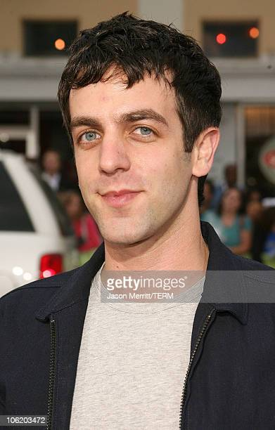 BJ Novak during 'Knocked Up' Los Angeles Premiere Arrivals at Mann Village Theater in Westwood California United States