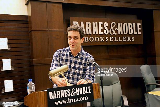 J Novak reads from his new book 'One More Thing Stories and Other Stories'at Barnes Noble bookstore at The Grove on February 17 2015 in Los Angeles...