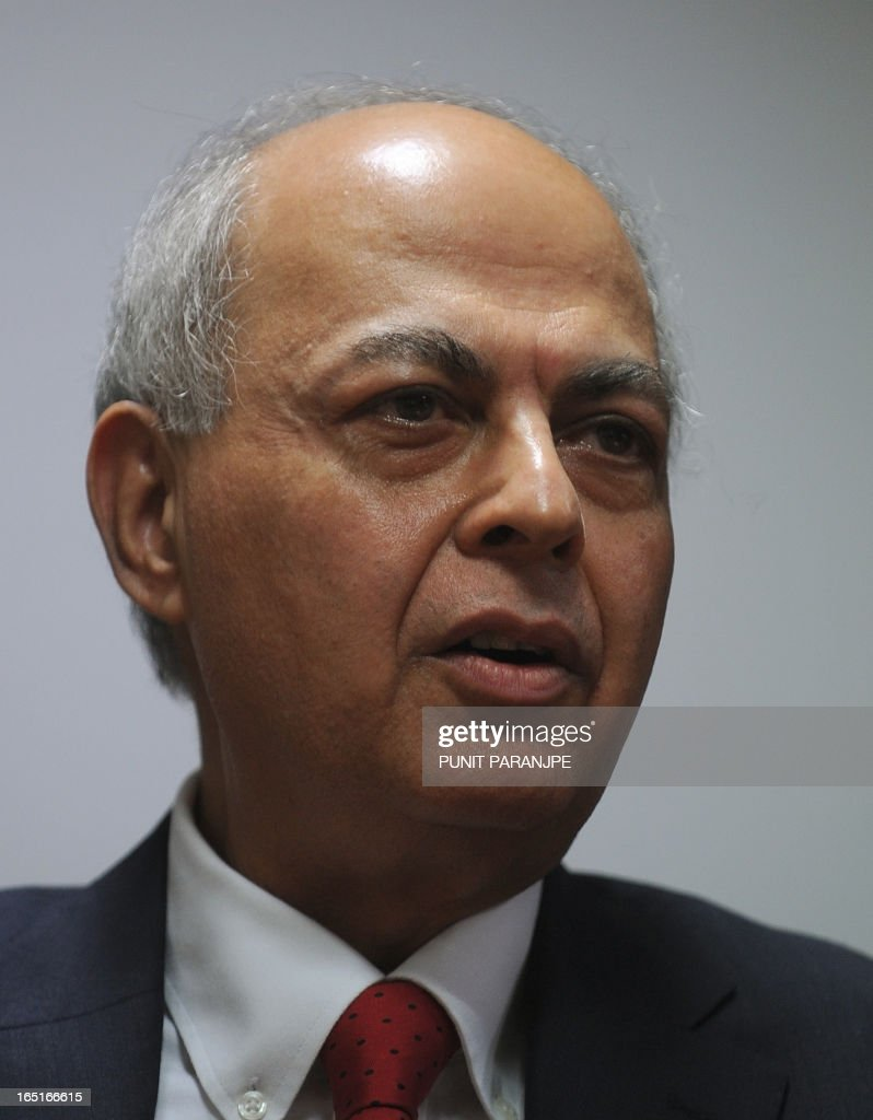 Novartis India's Vice Chairman and Managing Director Ranjit Shahani arrives to address a news conference in Mumbai on April 1, 2013. India's Supreme Court rejected a patent bid by Swiss drug giant Novartis in a landmark ruling that activists say will protect cheap generic drugs and save lives in developing nations.