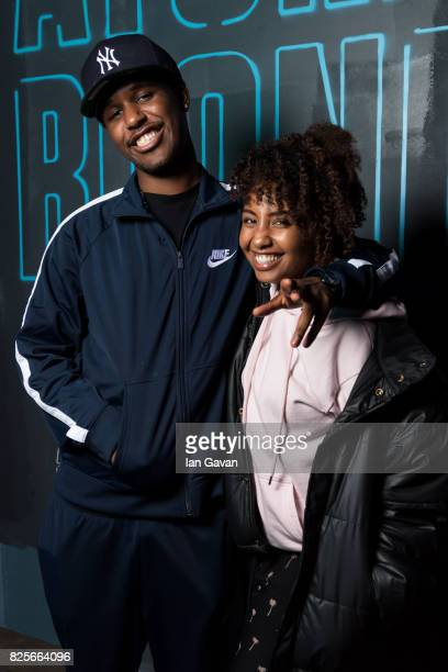 Novelist and Jade Avia attend a special screening of 'Atomic Blonde' hosted by Universal Pictures at Village Underground on August 2 2017 in London...