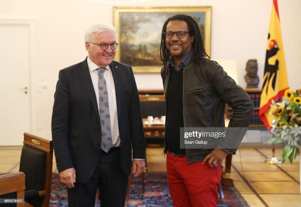 Colson Whitehead Meets President Steinmeier