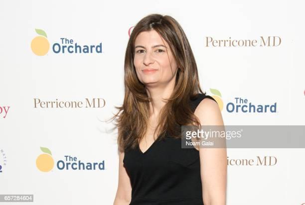 Novelist Caren Lissner attends the 'Carrie Pilby' New York screening at Landmark Sunshine Cinema on March 23 2017 in New York City