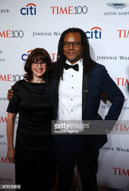 Novelist Colson Whitehead attends the 2017 TIME 100 Gala at Jazz at Lincoln Center in New York United States on April 25 2017