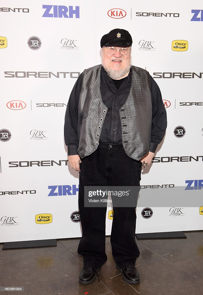 Novelist George R R Martin attends the Kia Luxury Lounge presented by ZIRH at the Scottsdale Center for Performing Arts on January 31 2015 in...
