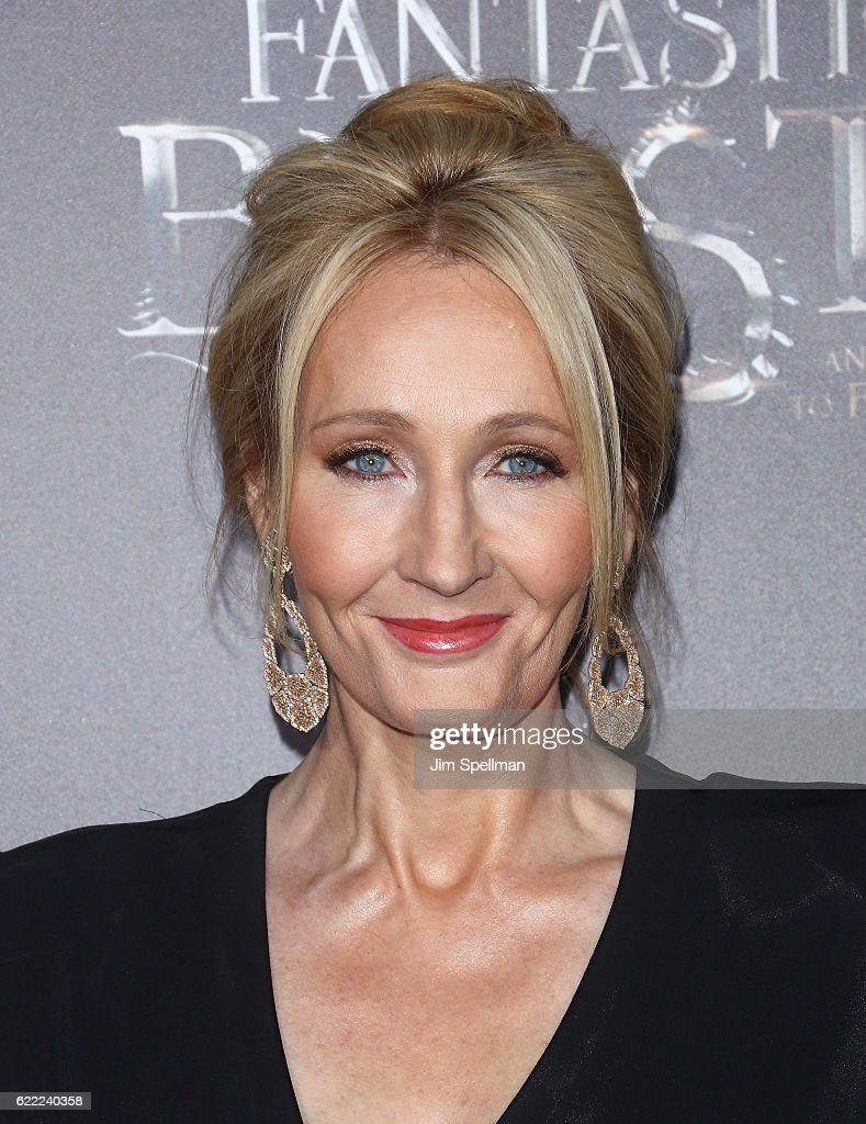 Novelist J. K. Rowling attends the 'Fantastic Beasts And Where To Find Them' world premiere at Alice Tully Hall, Lincoln Center on November 10, 2016 in New York City.