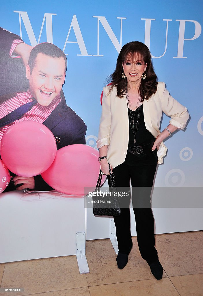 Novelist <a gi-track='captionPersonalityLinkClicked' href=/galleries/search?phrase=Jackie+Collins&family=editorial&specificpeople=123843 ng-click='$event.stopPropagation()'>Jackie Collins</a> at 'Roast and Toast with Ross Mathews' hosted by Target to celebrate the launch of Mathews' book 'Man Up!' at Sunset Tower on May 1, 2013 in West Hollywood, California.