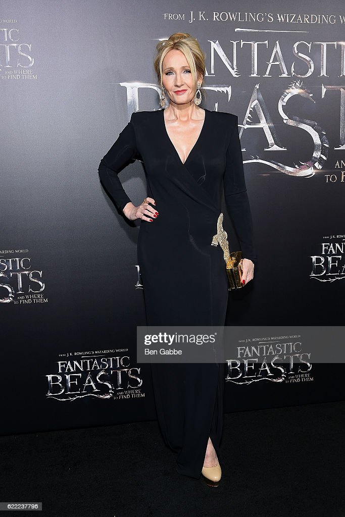 Novelist J.K. Rowling attends the 'Fantastic Beasts And Where To Find Them' World Premiere at Alice Tully Hall, Lincoln Center on November 10, 2016 in New York City.