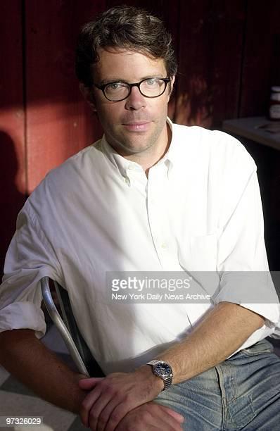 Novelist Jonathan Franzen author of 'The Corrections'