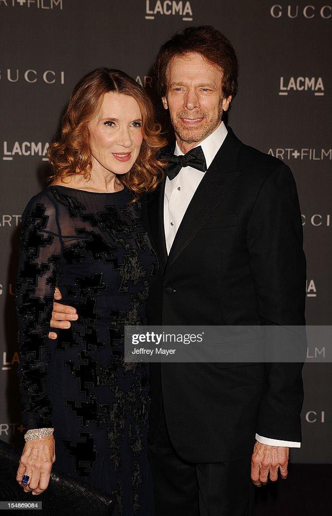 Novelist Linda Bruckheimer and Producer Jerry Bruckheimer arrive at LACMA Art + Film Gala at LACMA on October 27, 2012 in Los Angeles, California.