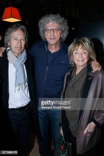 Novelist Pascal Bruckner director of the movie Elie Chouraqui and director Daniele Thompson attend the 'L'origine de la violence' Paris Premiere Held...