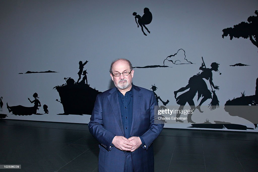 Novelist Salman Rushdie attends the opening reception for the reinstallation of contemporary art from the collection at MOMA on June 29, 2010 in New York City.
