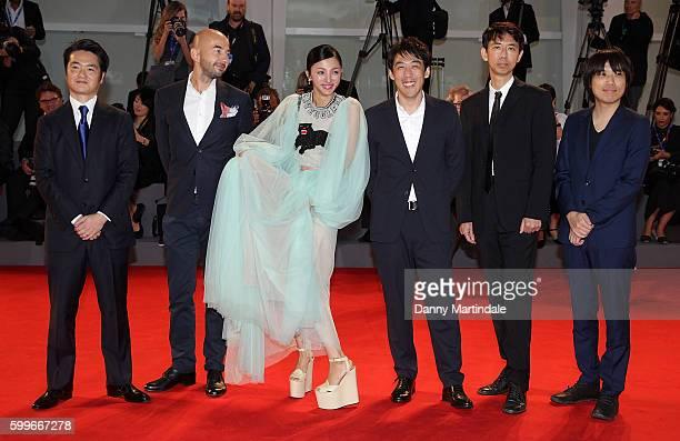 Novelist Tokuro Nukui screenwriter Kosure Mukai director Kei Ishikawa actress Hikari Mitsushima director of photography Piotr Niemyjski and producer...