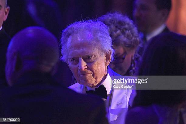 Novelist Tom Wolfe attends the Salute To Freedom 25th Anniversary Gala at Intrepid SeaAirSpace Museum on May 26 2016 in New York City