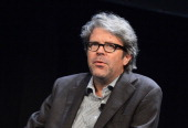 Novelist/essayist Jonathan Franzen attends panel 'An Exchange Is Techonology Good for Culture' part of The New Yorker Festival 2013 at Acura at SIR...