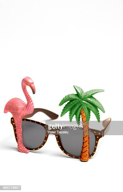 Novelty sunglasses close up