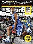 November 10 2014 Sports Illustrated Cover NCAA Season Preview Portrait of University of Kentucky forward Alex Poythress during photo shoot at Joe...