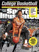 November 10 2014 Sports Illustrated Cover NCAA Season Preview Portrait of University of Texas point guard Isaiah Taylor during photo shoot on Dozier...