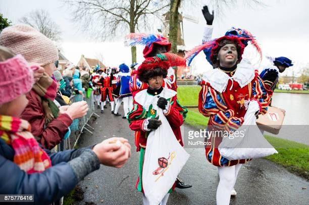 November 18th Dokkum Like each year the first Saturday after 11 November the redandwhiteclad Sinterklaas arrives by steamboat to great fanfare This...