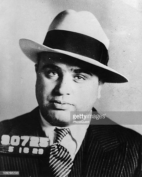 November 1930 Mugshot of Chicago gangster Al Capone November 1930