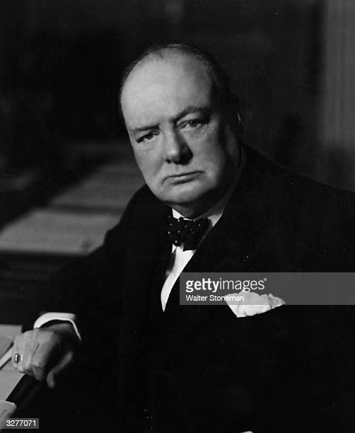 British Prime Minister Winston Churchill
