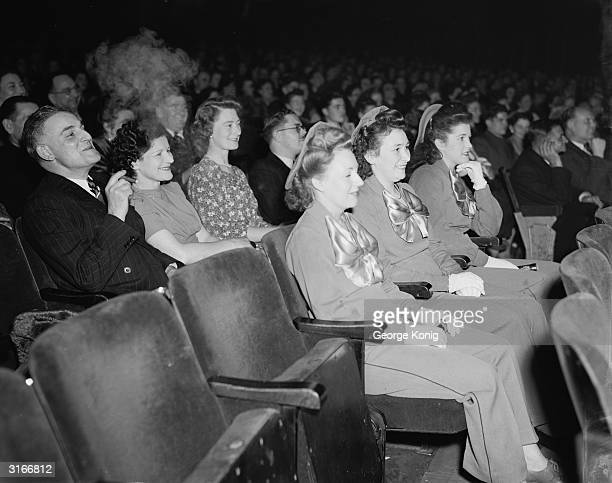 The audience at the Paramount 25 Year Club party