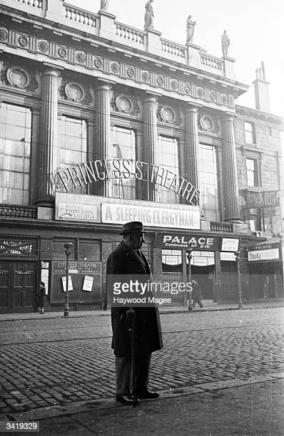 The exterior of the Princess's Theatre in Glasgow also known as the Citizens' Theatre The Citizens' Theatre Company was founded in 1943 by the...
