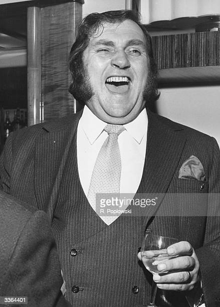 British comedian Les Dawson laughing out loud