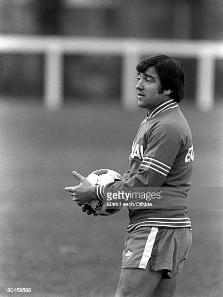 19 November 1979 England Under 21 football trainingTerry Venables in his Admiral tracksuit