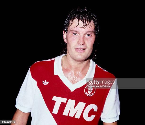 07 November 1987 French Football Monaco v FC Metz Glenn Hoddle of Monaco