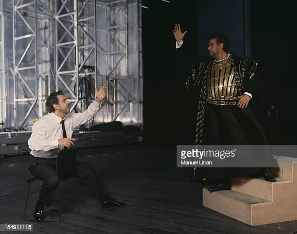 November 1990 the five representations of the opera 'Otello' by Verdi at the Opera Bastille directed by Petrika Ionesco with Placido Domingo took...