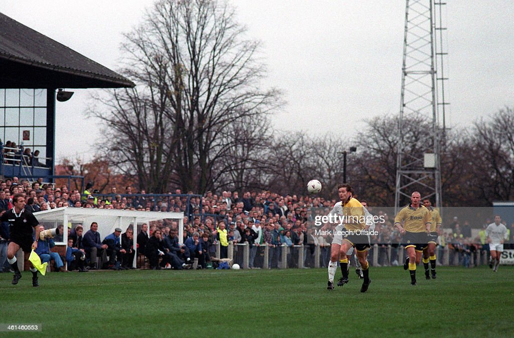 12 November 1994 Enfield FC v Cardiff City A general view of Southbury Road stadium