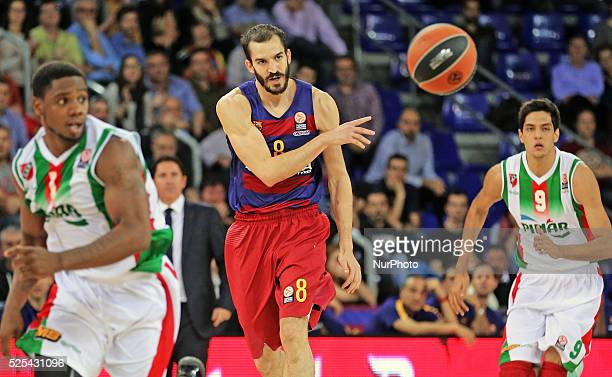 Pau Ribas during the match between FC Barcelona and Pinar Karsikaya corresponding to the week 6 of the basketball Euroleague played at the Palau...