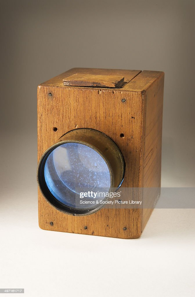 The Mousetrap camera made by William Henry Fox Talbot around 1835. From the National Media Museum.
