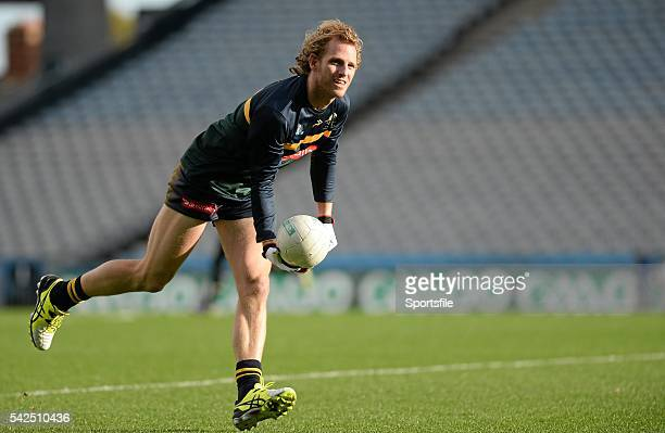18 November 2015 David Mundy Australia in action during squad training Australia Squad Training EirGrid International Rules 2015 Croke Park Dublin...