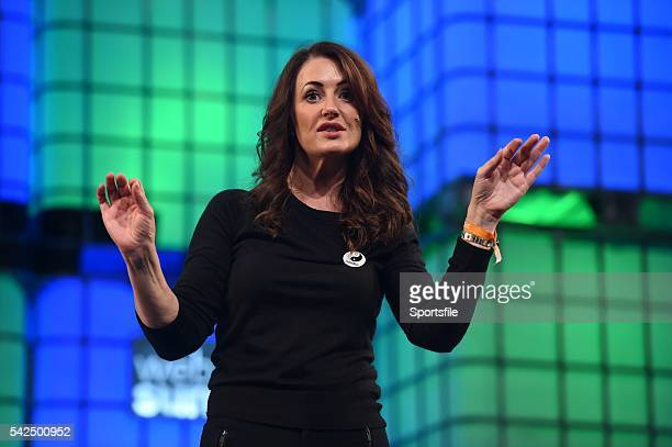 3 November 2015 Mary Moloney Global CEO of Coder Dojo at Schools Summit during Day 1 of the 2015 Web Summit in the RDS Dublin Ireland Picture credit...