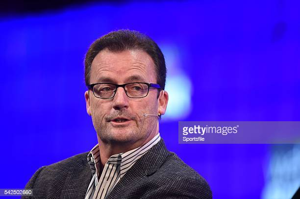 5 November 2015 Rob Lloyd CEO Hyperloop on the Centre Stage during Day 3 of the 2015 Web Summit in the RDS Dublin Ireland Picture credit Stephen...