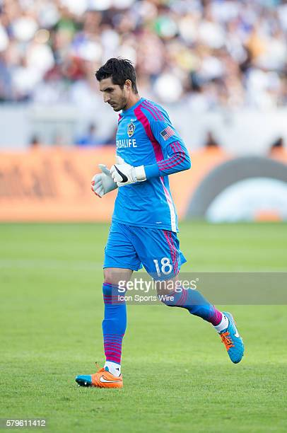 November 23 2014 Los Angeles Galaxy goalkeeper Jaime Penedo walks back to the goal during the Western Conference Finals game between Seattle Sounders...