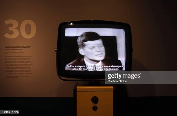 49e38a35b37 JFK 100 - Milestones   Mementos Exhibit At JFK Presidential Library