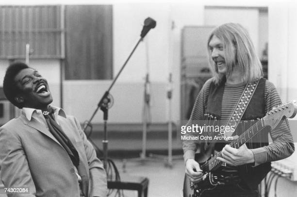 November 241969with Wilson PickettMuscle Shoals Alabama Photo by Michael Ochs Archives/Getty Images