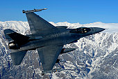November 26, 2009 - A U.S. Air Force F-16 Fighting Falcon conducts operations over eastern Afghanistan.