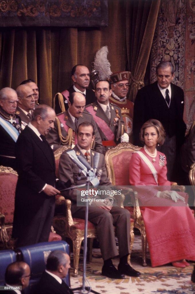 november-27-1975-madrid-spain-coronation-of-king-juan-carlos-i-and-picture-id89411485