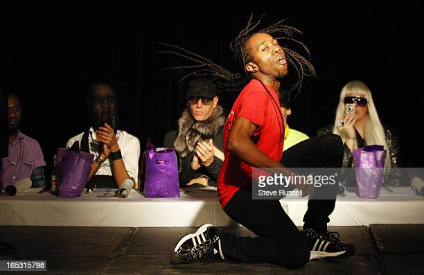 November 29 2009 The Almighty Ball held at the Glastone brings back the dance craze of the 90's Voguing a dance that uses runway and magazine style...