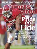 November 30 2009 Sports Illustrated Cover College Football Alabama Mark Ingram in action rushing vs Chattanooga Tuscaloosa AL CREDIT Al Tielemans