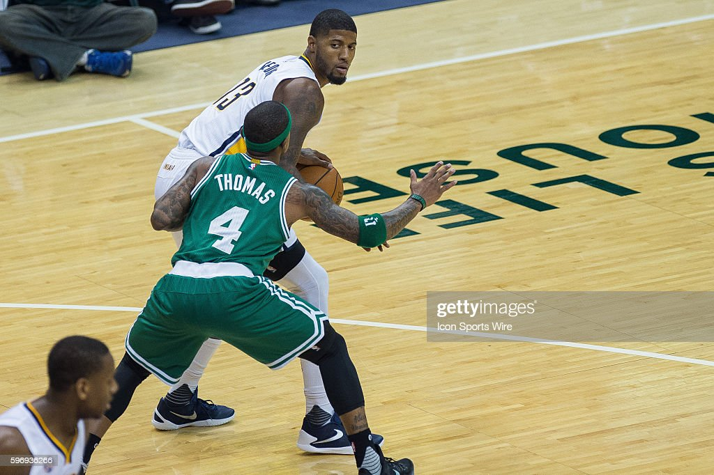 Image result for paul george isaiah thomas