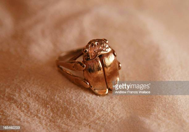 November 9 2009 1979 scarab ring by Toronto jeweller Ivaan Kotulsky In 1979 Kotulsky was 'discovered' by one of the AGO's directors and asked to make...