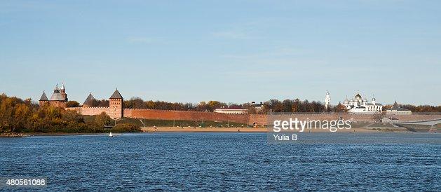 Novgorod Kremlin : Stock Photo